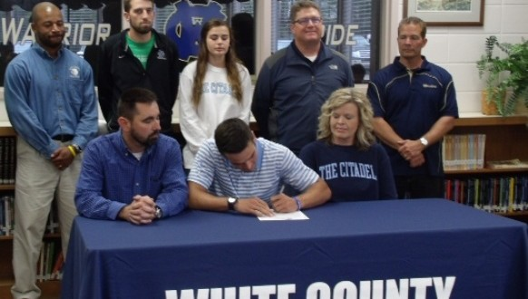 Three White County Seniors Sign Sports Letters WRWH