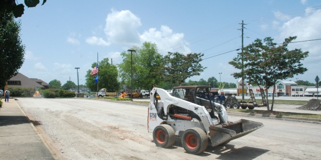 Repaving Of Cleveland Post Office Parking Area Underway WRWH