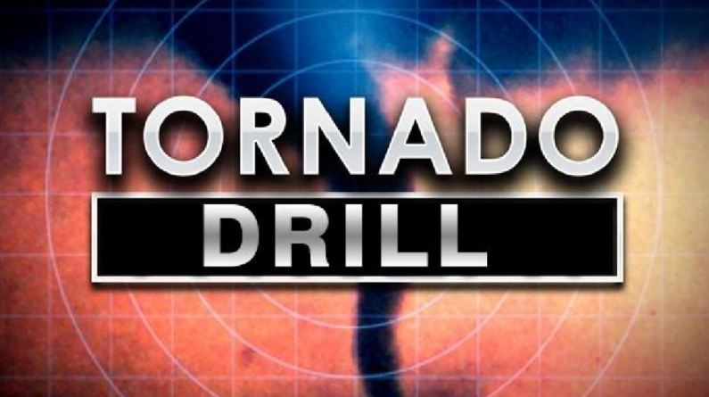 Tornado Drill Today WRWH