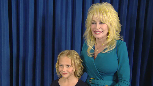 Dolly Parton surprises child actress_20883