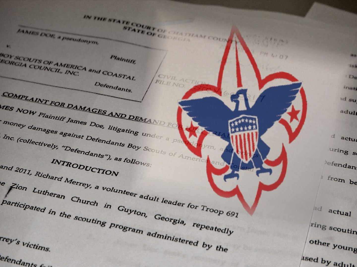 New Victim Files Suit against Coastal Georgia Boy Scouts of