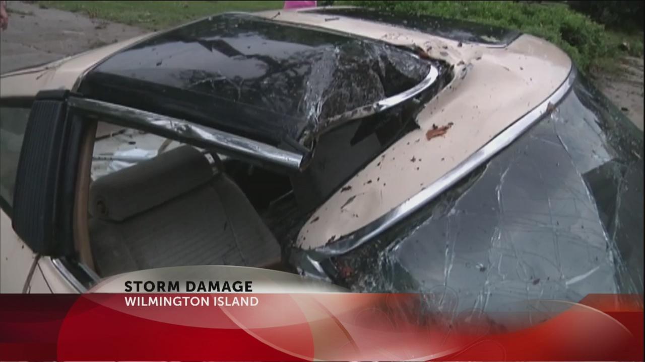 Wilmington Island storm damage_246118