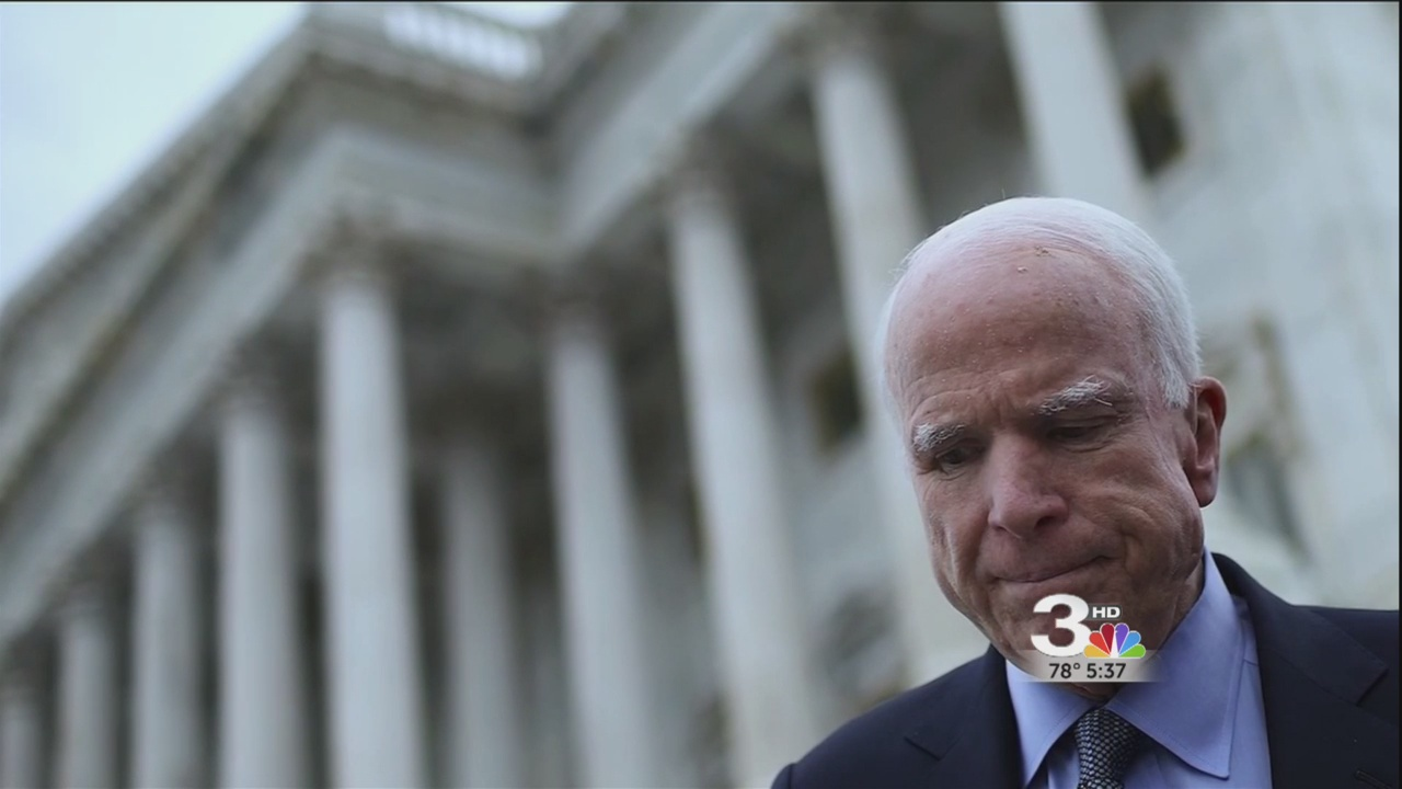 Lawmakers respond to McCain diagnosis