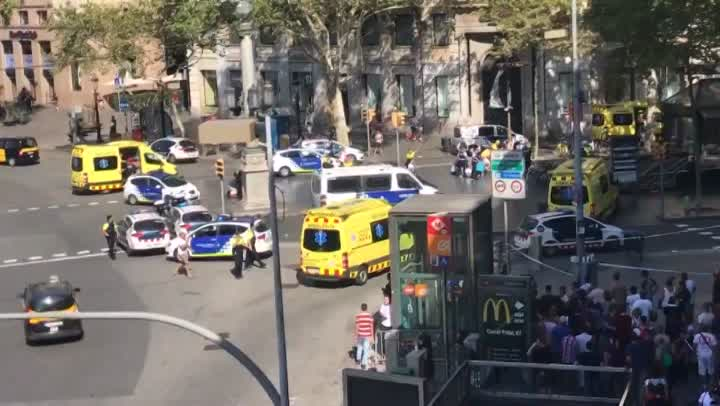 Barcelona attack followed by Cambrils incident