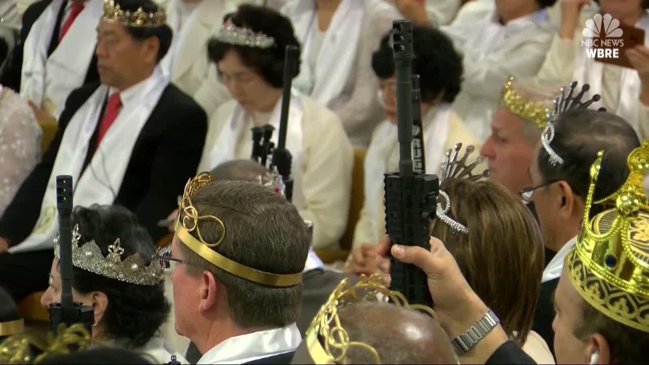 church ceremony with AR-15s_373782