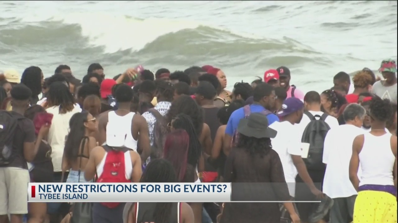 New restrictions on big events for Tybee Island?