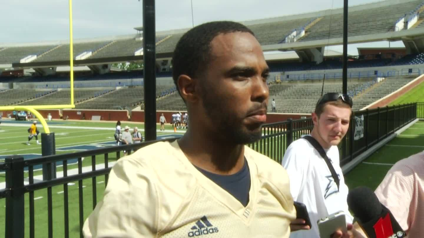Georgia Southern QB passes drug test, returns to practice