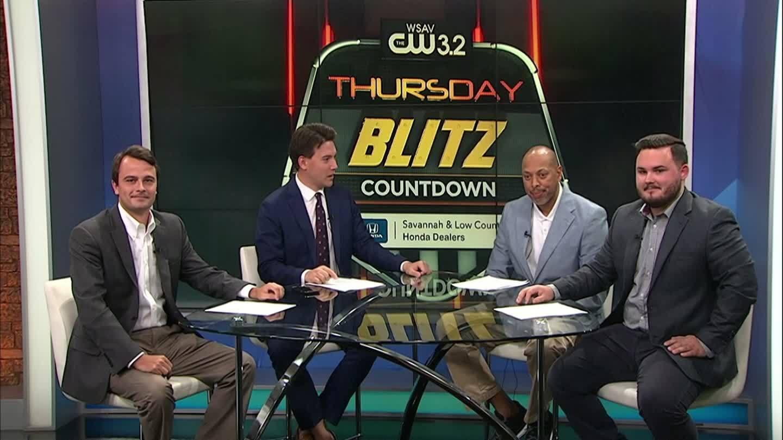WATCH: Thursday Blitz Countdown, Week 3 -- Part 1