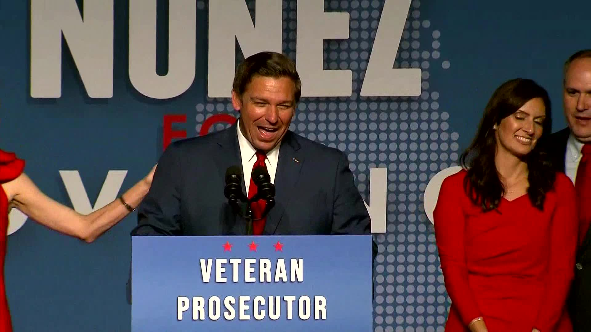 Ron DeSantis remarks on his win in Florida