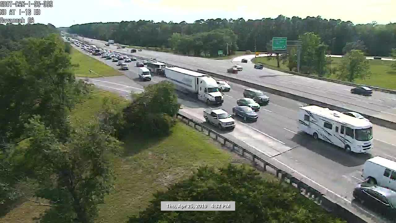 GDOT: 'Major accident' on I-16 EB at Pooler Pkwy