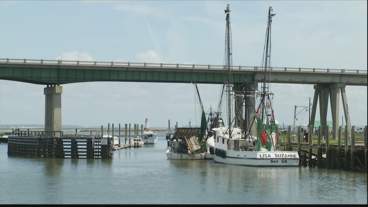 Bridge replacement project on Tybee Island