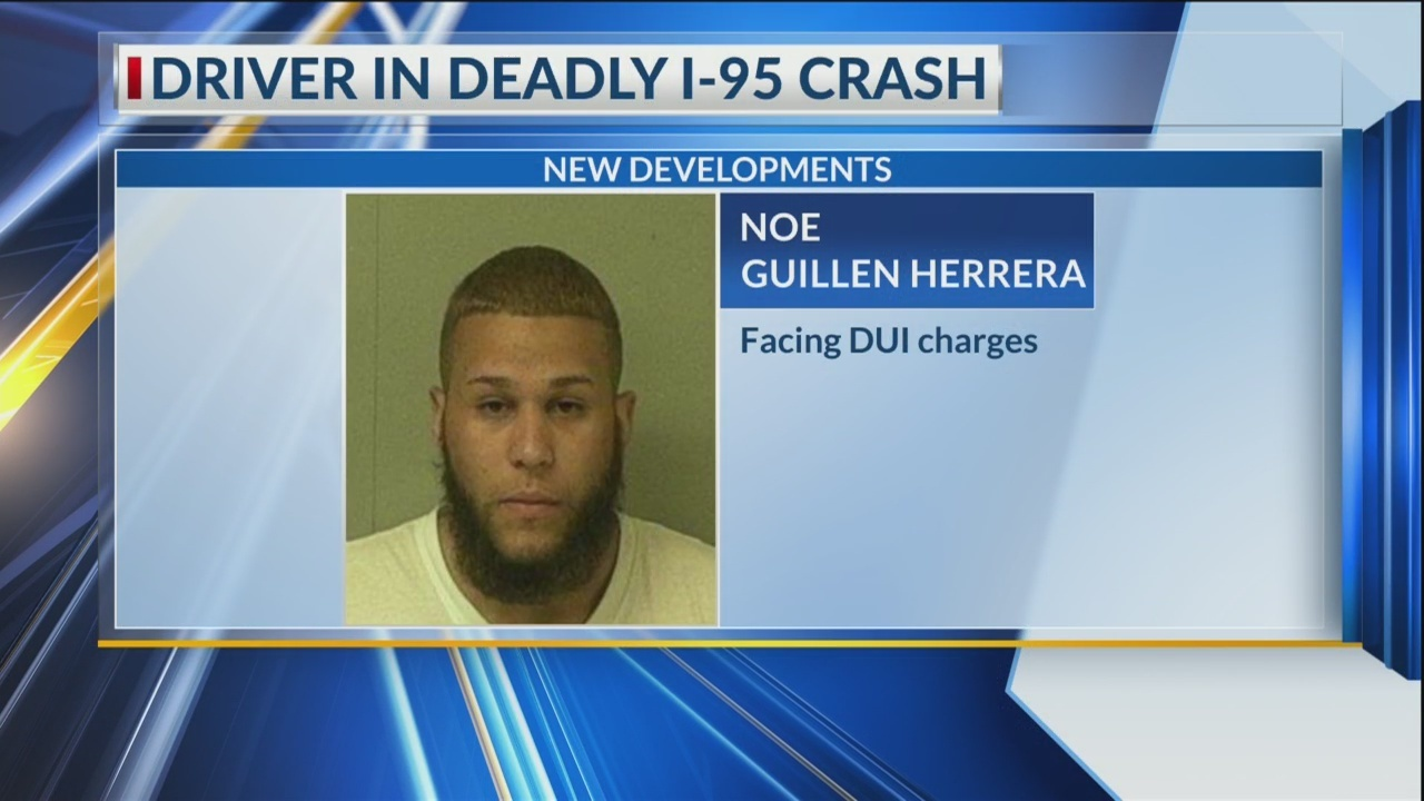 Driver accused in fatal I-95 crash