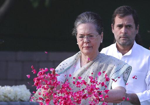 Sonia Gandhi, Rahul Gandhi