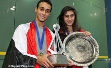 2013 Finals : El Sherbini and El Hammany are Champions in Poland