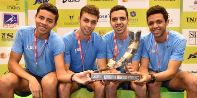 Team Finals : Egypt reclaim the title