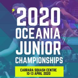 OCEANIA JUNIOR CHAMPIONSHIPS   Entries still open