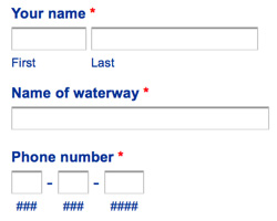 Waterway Assistance Request