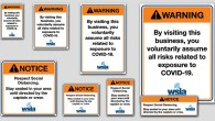 The WSIA has created a set of COVID-19 warning signs and notice stickers to help protect your business. Your annual member username and password are required to download these files. […]