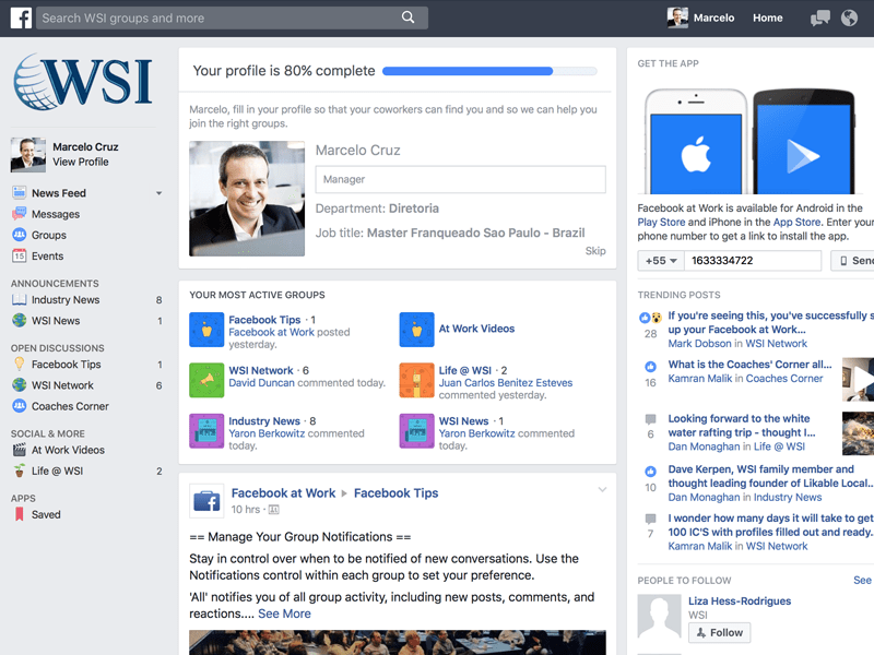 Facebook at Work: o que é Isso?