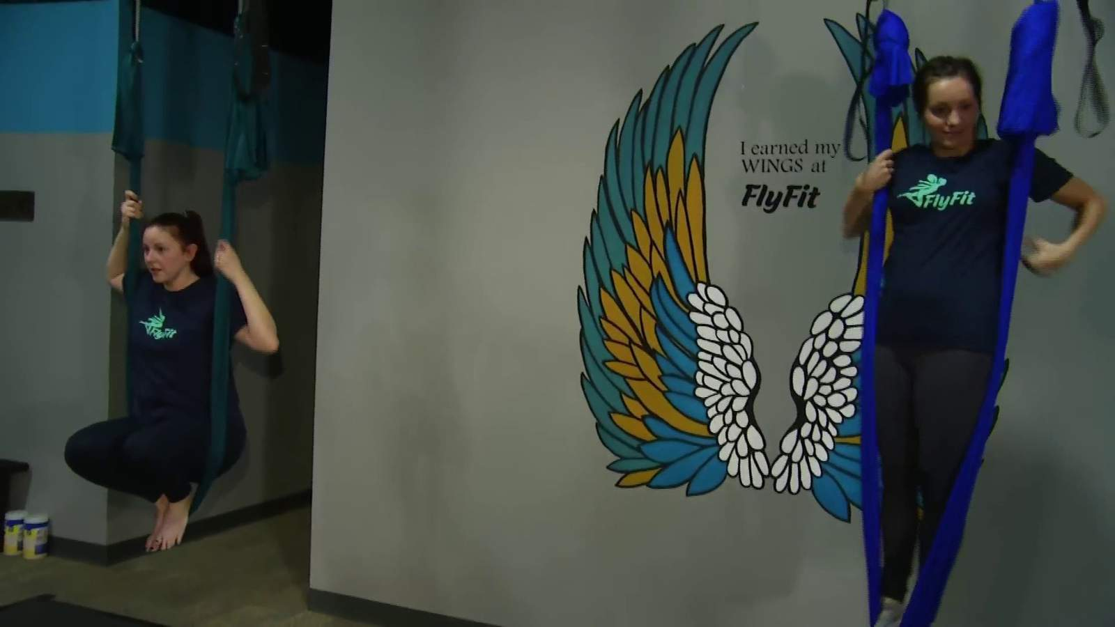 Take your fitness routine to soaring heights at FlyFit - WSLS 10