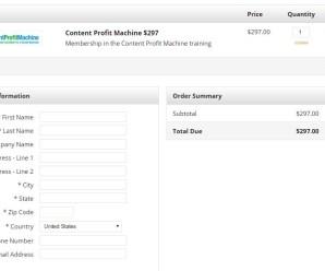 [Download] Content Profit Machine – MaryEllen $297