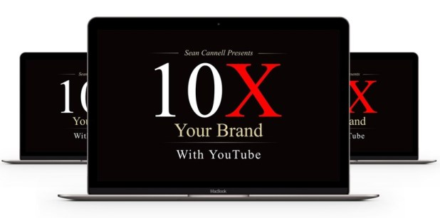 Sean Cannell – 10X Your Brand With YouTube Download