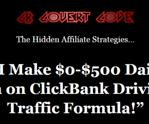 [GET] CB Covert Code – $500 In A Day Commissions Secret Download