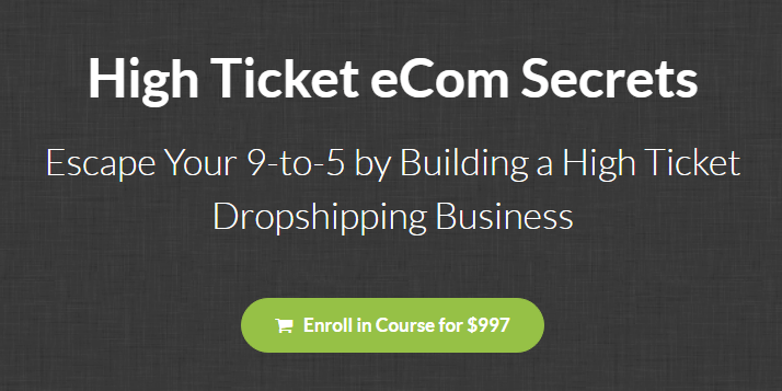 Earnest Epps - High Ticket Ecom Secrets Download