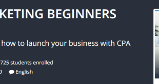 CPA Affiliate Marketing Beginners Ultimate Course Download
