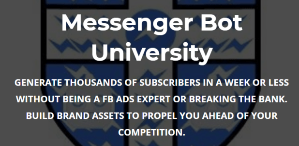 Paul Baron – Messenger Bot University Download