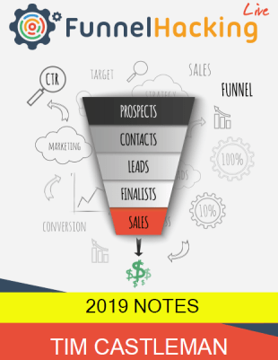 Russell Brunson - Funnel Hacking (LIve) Notes 2019 Download