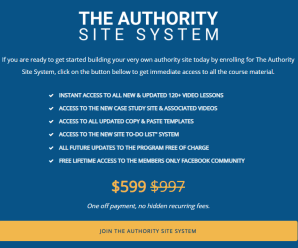 [SUPER HOT SHARE] Gael Breton & Mark Webster – The Authority Site System 2019 Download