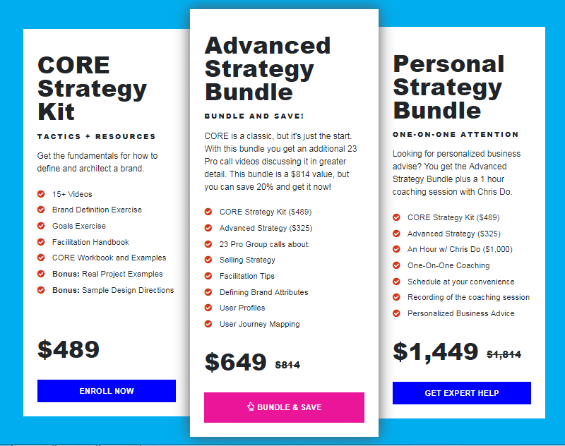 Jose Caballer (The Futur) - Advanced Strategy Bundle Download