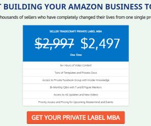 [SUPER HOT SHARE] Seller Tradecraft – Private Label MBA Download