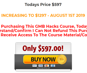 [SUPER HOT SHARE] GMB HACKS 2019 – Rank For Tough Keywords In 30 Minutes Or Less Download