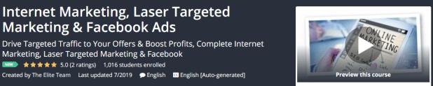 Internet Marketing, Laser Targeted Marketing & Facebook Ads Download