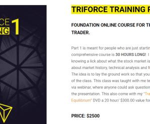 [SUPER HOT SHARE] Matthew Owens – Triforce Training Part 1 Download