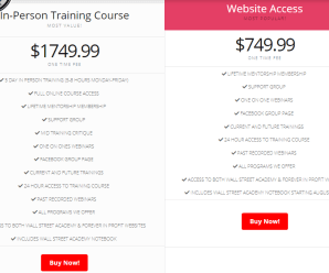 [SUPER HOT SHARE] Wall Street Academy Training Course Download