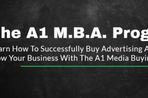 A1 Revenue – The A1 Media Buying Academy 2019 Download