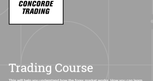 Concorde Trading - Trading Course Download