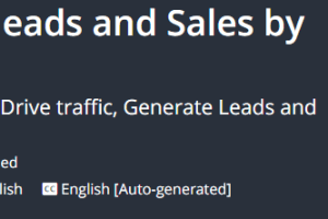 Drive traffic, Generate leads and Sales by sharing links Download