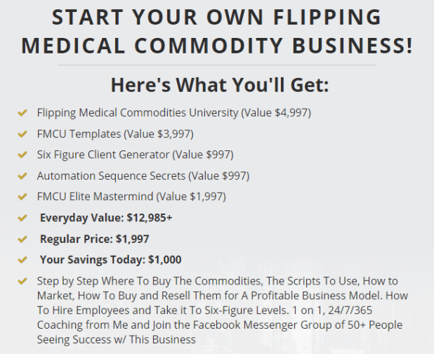 Felix Wisniewski - Flipping Medical Commodities University Download