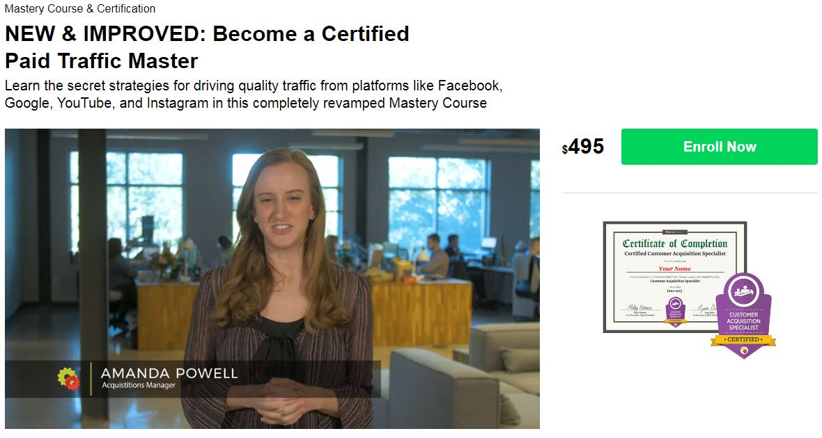 Molly Pittman – Paid Traffic Mastery 2019 Download
