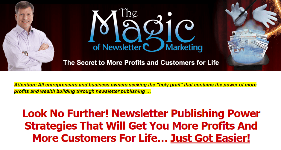 Newsletter Publishing Magic Download
