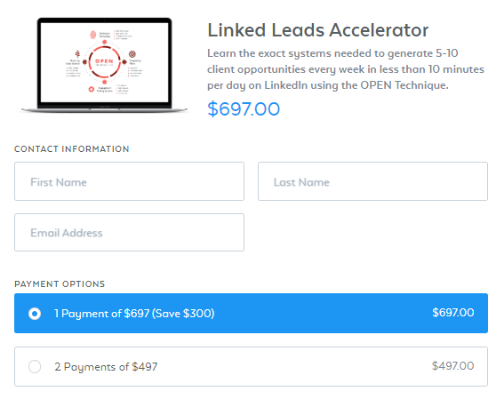 Brian Downard – Linked Leads Accelerator 2.0 Download