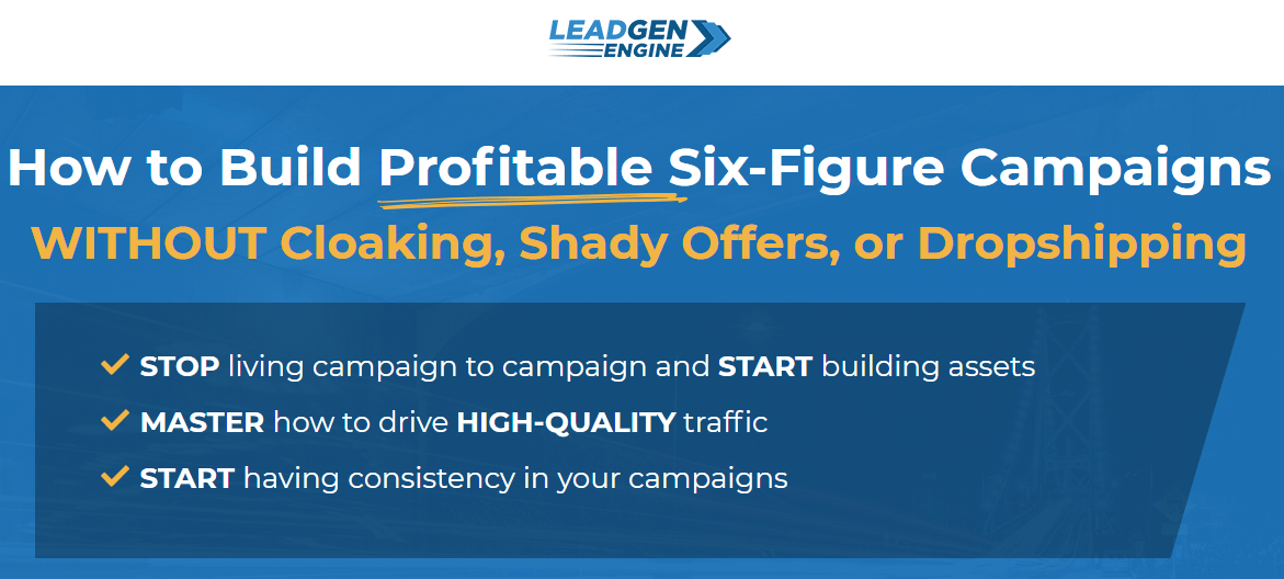 Charles NGO - AFFILIATE MARKETING 2.0 - LEAD GEN ENGINE Download
