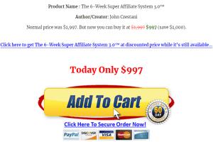 John Crestani – Super Affiliate System 3.0 Download