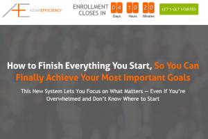 Asian Efficiency – Finisher's Fastlane Download