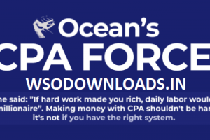 Ocean's CPA FORCE – New Powerful CPA Method for Year 2020 Download