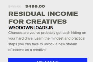 Ezra Cohen - Masterclass - Residual Income for Creatives